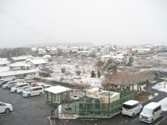 当院からの雪景色。