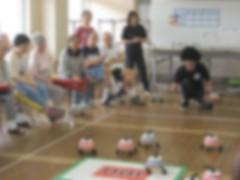 新競技『床ーリング』!